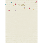 A Mother's Love- Journal Card- Today