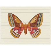 A Mother's Love- Journal Card- Butterfly