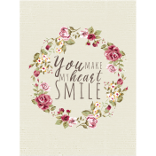 A Mother's Love- Journal Card- Smile