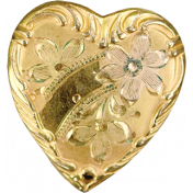A Mother's Love- Heart Charm