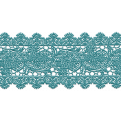 A Mother's Love- Teal Lace 2