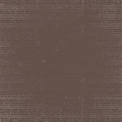 A Mother's Love- Dark Brown Solid Paper