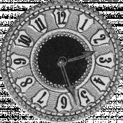 Clock Face Template 003
