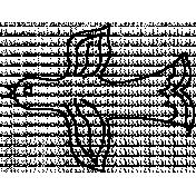 Bird Doodle Template 004