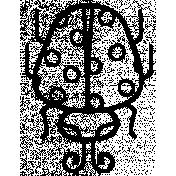 Ladybug Doodle Template 002