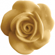 A Mother's Love- Resin Flower- Yellow