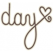 A Mother's Love- Day Word Art