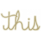 A Mother's Love- This Word Art