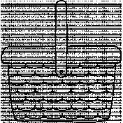 Basket Doodle Template 002