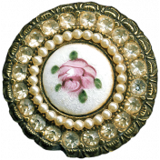 Yesteryear- Brooch