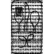 Silverware Doodle Template 001