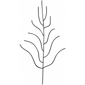 Tree Doodle Template 012