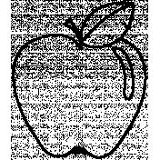 Fruit Doodle Template 018
