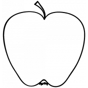 Fruit Doodle Template 019