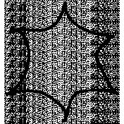 Flower Center Doodle Template 002