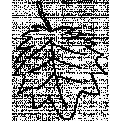 Leaf Doodle Template 013
