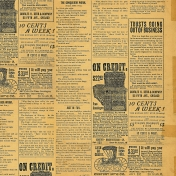Yesteryear- Newsprint Paper