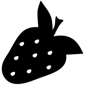 Fruit Shape Mask Template 015