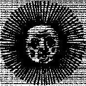 Sun Stamp Template 001