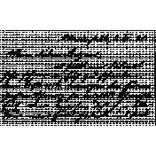Handwriting Stamp Template 010