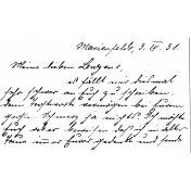 Handwriting Stamp Template 010