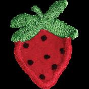 Picnic Day- Fabric Strawberry