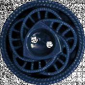 Picnic Day- Blue Button 2