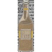 Picnic Day- Beer Bottle Doodle