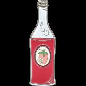 Picnic Day- Strawberry Soda Bottle Doodle