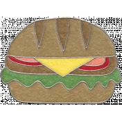 Picnic Day- Hamburger Doodle