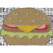 Picnic Day- Hamburger Doodle 2