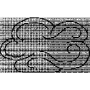 Cloud Doodle Template 009
