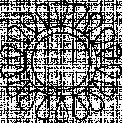 Sun Doodle Template 004