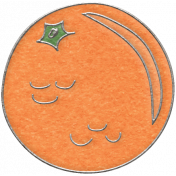 Picnic Day- Orange Doodle