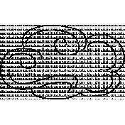 Cloud Doodle Template 011