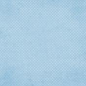 Blue Skies & Lemonade Mini- Blue Dotted Paper