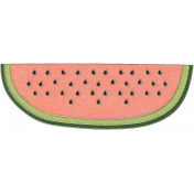 Picnic Day- Watermelon Slice Doodle