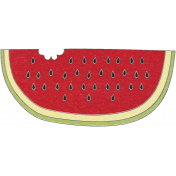 Picnic Day- Watermelon Slice Doodle 2