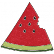 Picnic Day- Watermelon Wedge Doodle 3