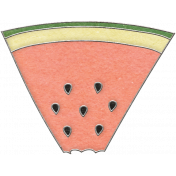Picnic Day- Watermelon Wedge Doodle 4