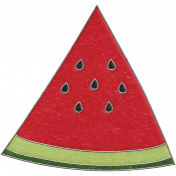 Picnic Day- Watermelon Wedge Doodle 5