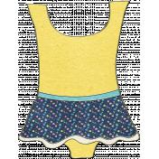 Summer Day- Swim Suit Doodle