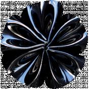 Summer Day- Black Fabric Flower