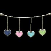 Summer Day- Bunding Doodle Hearts 2