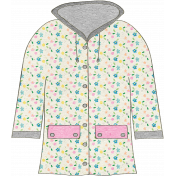 Summer Day- Floral Raincoat