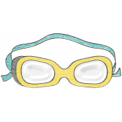 Summer Day- Goggles Doodle