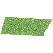 Summer Day- Green Glitter Tape