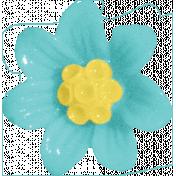 Summer Day- Plastic Flower
