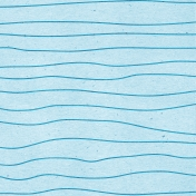 Summer Day- Wavy Lines Paper
