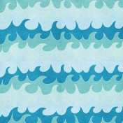 Summer Day- Waves Paper